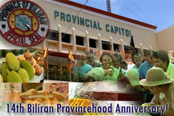 14th Biliran Provincehood Anniversary