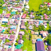 An aerial view of Brgy. San Isidro, Biliran, Biliran. Photo by Jalmz