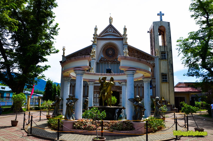 St. James the Apostle Catholic Church in Caibiran, Biliran.