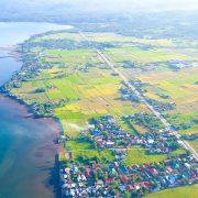 An aerial view of Brgy. Atipolo, Naval, Biliran. Photo by Jalmz