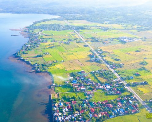 An aerial view of Brgy. Atipolo, Naval, Biliran. Photo by Jalmz