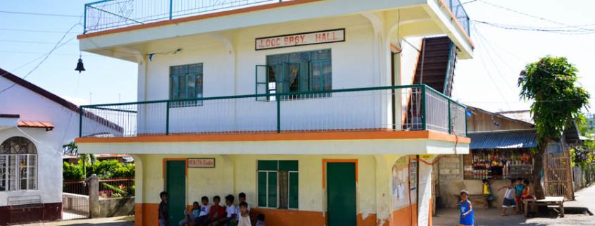 Barangay Hall of Looc, Cabucgayan, Biliran. Photo by Jalmz