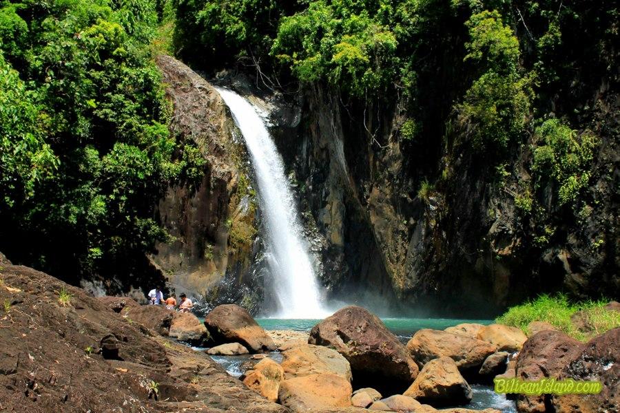 The Tinago Waterfalls in Caibiran, Biliran. Photo by Penny Lloyd Batoto