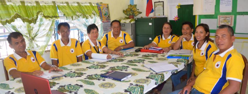 Barangay Elected Officials of San Roque, Culaba, Biliran Province.