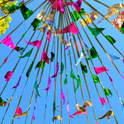 Festival is normally refers to a religious holiday, and the word festival in the Philippines being one of the Spanish colonies is fiesta.