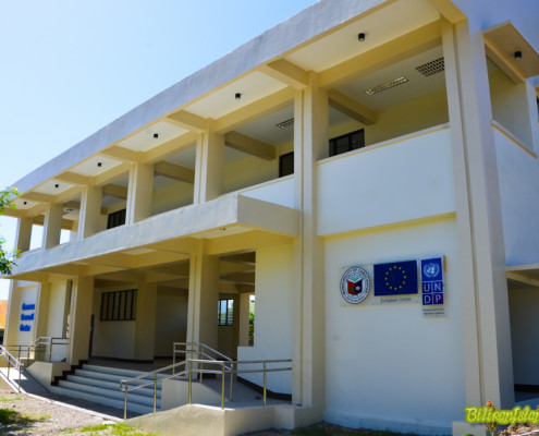 Community Evacuation Center funded by the European Union and United Nations Development Programme.