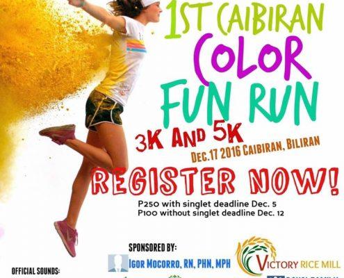Caibiran Color Fun Run