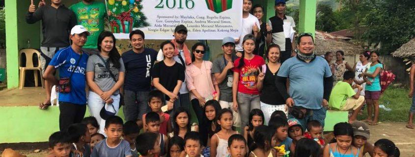 BiliranIsland.com Annual Bundles of Joy 2016