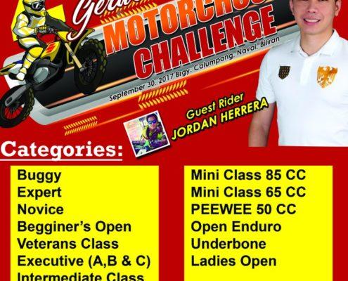 2ND MAYOR GERARD ROGER ESPINA MOTOCROSS CHALLENGE 2017