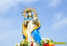 Our Lady of the Holy Rosary, Patron Saint of Hometown Naval.