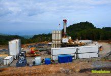 Geysir Drilling rig of Iceland Drilling on site on Biliran Island, Philippines (source: BiliranIsland.com)