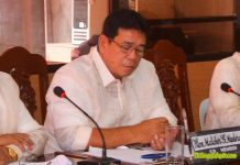 Former Mayor Melchor Don Maderazo