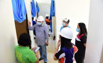 Covid-19 Isolation Facility in Biliran